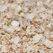 Wood shavings background — Stock Photo