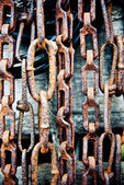 Chains background — Stock Photo