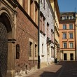 Townhouses on market in Krakow — Stock Photo #11936441
