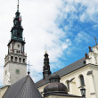 Church in Czestochowa — Stock Photo