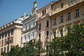 Old Town Square in Krakow — Stock Photo