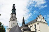 Church in Czestochowa — Stock Photo