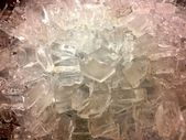 Ice Cubes Background — Photo