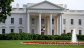The White House in Washington DC, USA — Foto de Stock
