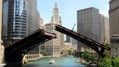 Downtown Chicago Waterfront, Illinois USA — Stock Photo