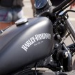 Stock Photo: BARCELONHARLEY DAYS 2012