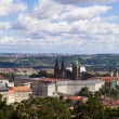Panorama with prague castle, czech republic — Stock Photo #11707728