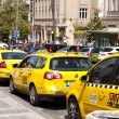 Prague Taxi — Stock Photo