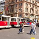 Prague Tram — Stock Photo #11708727