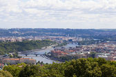Panoramic Prague — Stock Photo