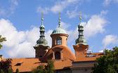 церковь sv вавржинца — Стоковое фото