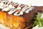 Hazelnut Cake — Stock Photo