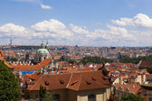 Panoramic view of Prague — 图库照片