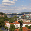 Panoramic view of Prague — Stock Photo #11818653