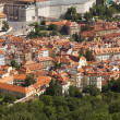 Panoramic view of Prague — Stock Photo