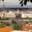 Panoramic view of Prague — Stok Fotoğraf #11820023