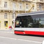 Prague Tram — Stock Photo #11866381