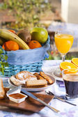 European breakfast — Stock Photo