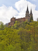 Covadonga sanctuary, Asturias, Spain — Stock Photo