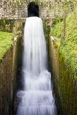 Wodospad w parku narodowym hiszpański covadonga — Zdjęcie stockowe
