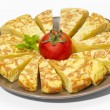 Spanish omelette - Stock Photo