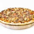 Pizza cheese steak — Stock Photo #11248276