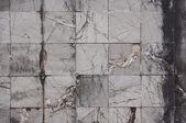 Azulejos antigos de pedra mármore rachados — Fotografia Stock