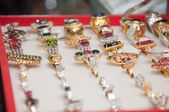 Jewel rings — Stock Photo