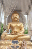 Buddha statue in thai temple — Stock Photo
