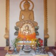 Buddha statue in thai temple — Stock Photo