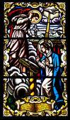 Stained glass window — Zdjęcie stockowe