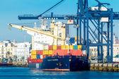 Cargo ship Fesco Vladimir — Stock Photo