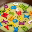 Alphabet soup — Stock Photo #12103434