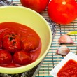 Meatballs with tomato sauce — Stock Photo #12103450