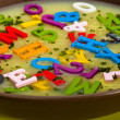 Alphabet soup — Stock Photo #12103451