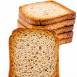 Slices of toast — Stock Photo