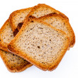 Slices of toast — Stock Photo #12103536