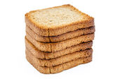 Rebanadas de pan tostado — Foto de Stock