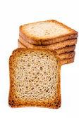 Slices of toast — Stock Photo