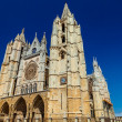 Cathedral of Leon, Spain — Foto Stock