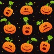 Royalty-Free Stock Immagine Vettoriale: Seamless Halloween background