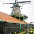 Stock Photo: Windmill in Zaanse Schans