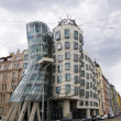 Dancing house in Prague - Stock Photo
