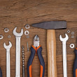Set of different tools - Foto de Stock  