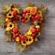 Autumn wreath — Stock Photo #11488222