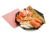 Fish menu — Stock Photo