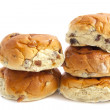 Royalty-Free Stock Photo: Raisin bun