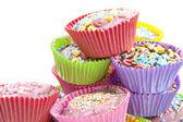 Deliziose torte cup — Foto Stock