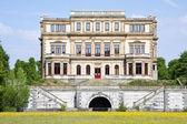 Old historic big house — Zdjęcie stockowe