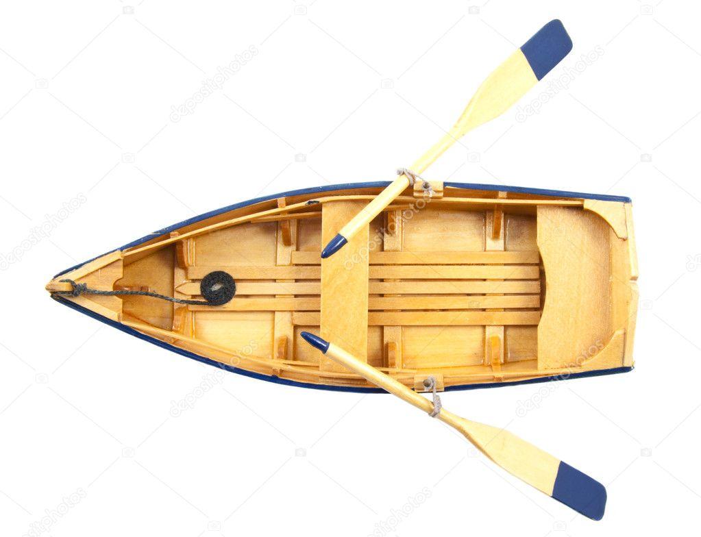 лодку из дерева попроще
